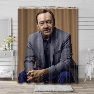 Kevin Spacey Shower Curtain Waterproof Polyester Fabric