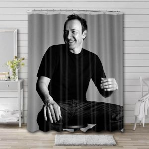 Kevin Spacey Movies Bathroom Shower Curtain Waterproof Polyester