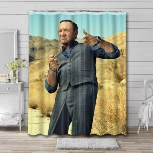Kevin Spacey Photo Shower Curtain Waterproof Polyester Fabric