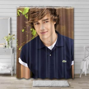 Liam Payne Singer Shower Curtain Waterproof Polyester Fabric