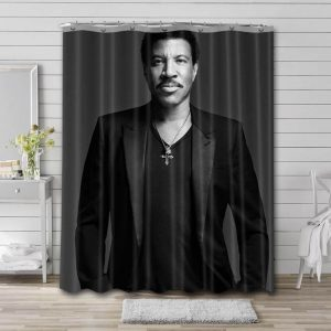 Lionel Richie Shower Curtain Waterproof Polyester Fabric