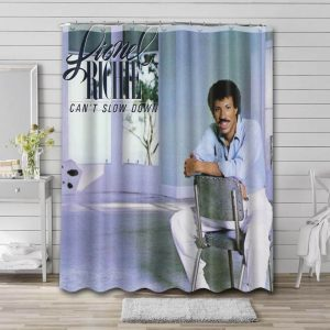 Lionel Richie Can't Slow Down Waterproof Curtain Bathroom Shower