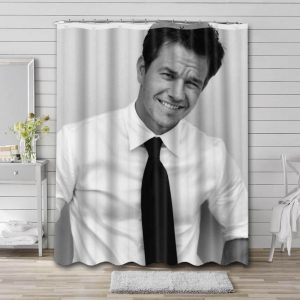 Mark Wahlberg Shower Curtain Waterproof Polyester Fabric