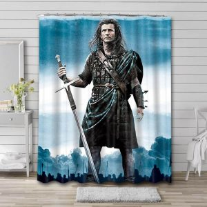 Mel Gibson Actor Shower Curtain Waterproof Polyester Fabric