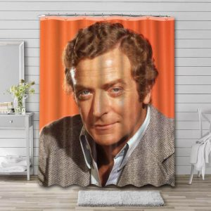 Michael Caine Movies Bathroom Shower Curtain Waterproof Polyester