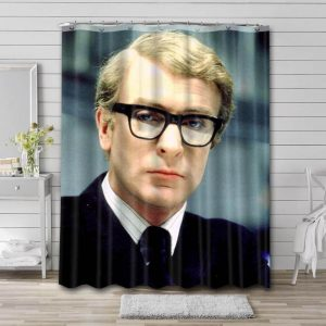 Michael Caine Shower Curtain Bathroom Decoration Waterproof Polyester Fabric.
