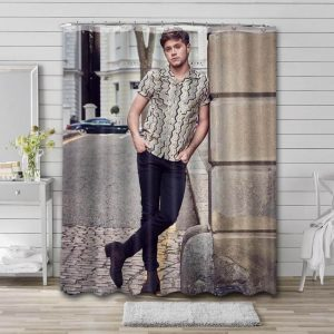Niall Horan Shower Curtain Waterproof Polyester Fabric