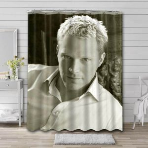 Paul Bettany Actor Shower Curtain Waterproof Polyester Fabric