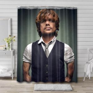 Peter Dinklage Actor Shower Curtain Waterproof Polyester Fabric