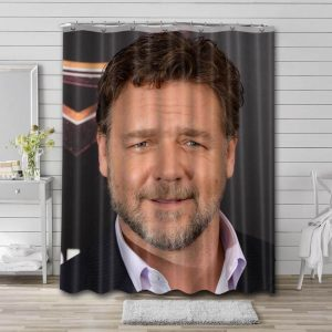 Russell Crowe Movies Shower Curtain Bathroom Decoration
