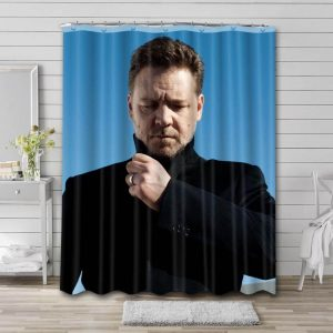 Russell Crowe Shower Curtain Bathroom Decoration