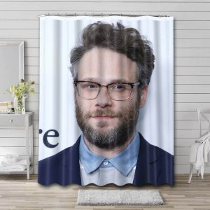 Seth Rogen Movies Shower Curtain Waterproof Polyester Fabric