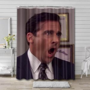 Steve Carell Actor Shower Curtain Waterproof Polyester Fabric