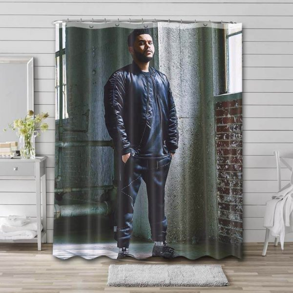 The Weeknd Shower Curtain Waterproof Polyester Fabric