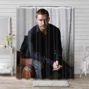 Tom Hardy Movies Shower Curtain Waterproof Polyester Fabric