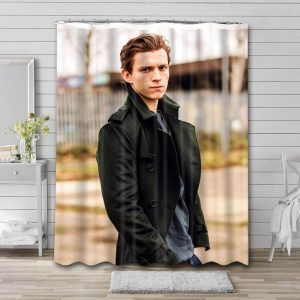 Tom Holland Shower Curtain Waterproof Polyester Fabric