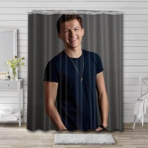 Tom Holland Hollywood Shower Curtain Waterproof Polyester Fabric