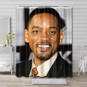 Will Smith Movies Shower Curtain Waterproof Polyester Fabric