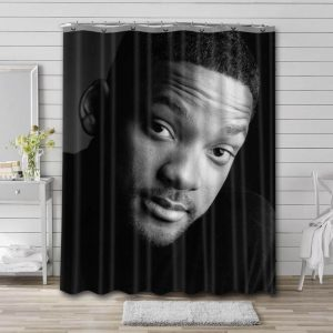 Will Smith Shower Curtain Waterproof Polyester Fabric